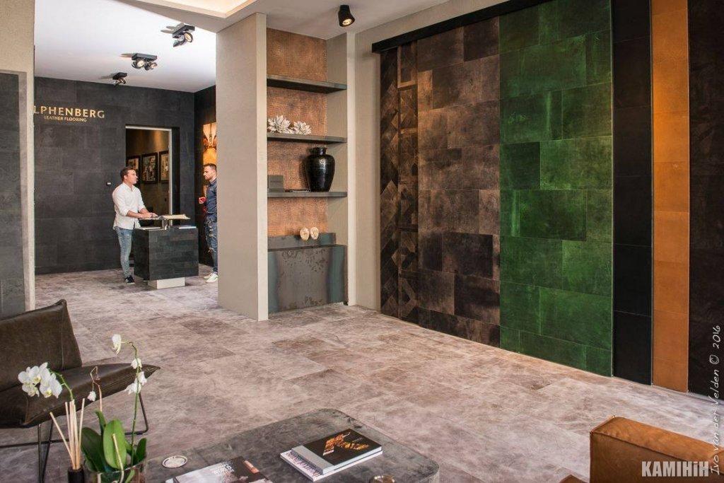 Шкіра для стін та підлоги COBRA TUNDRA – PETROL