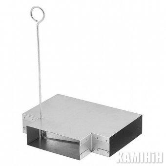 Тройник с шибером TRP200x90/90/Z-OC
