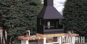 Barbecues Rocal Palma Jardin Inox 75