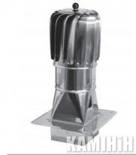 Турбіна алюмінієва Darco TU...CHAL-T-PKR Ø150
