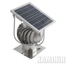 Турбіна алюмінієва гібридна з сонячною панеллю Darco Ø150