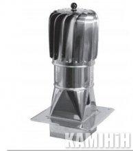 Турбіна алюмінієва фарбована Darco TU...ML-T-PKR Ø150