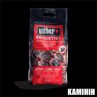 Вугільні брекети Weber, 4 кг
