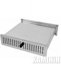 Вентиляційний блок зі змінним фільтром 53х304/160 см.кв. білий