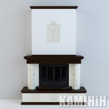 Кахельне облицювання Відень портальний з гербом