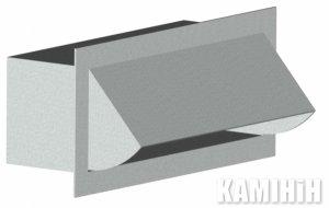 Воздухозаборник прямоугольный CZnP150x50