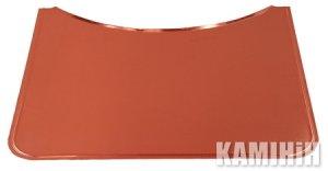 Захисний лист для підлоги  напівкругла 40х60, для ø 78 cм печі