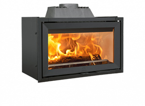 Convection fireplace inserts